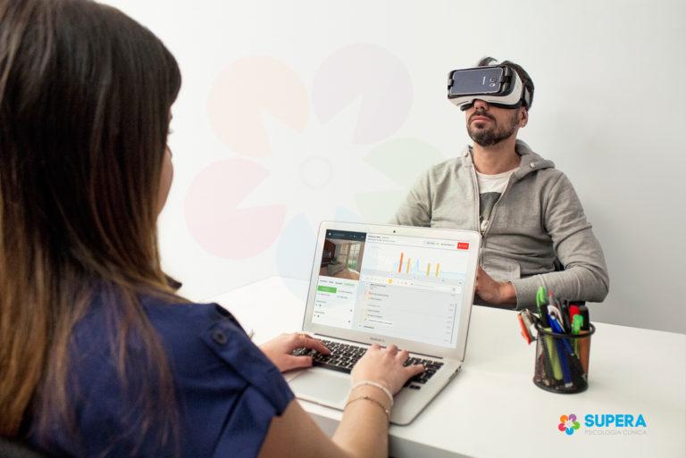 supera psicología realidad virtual