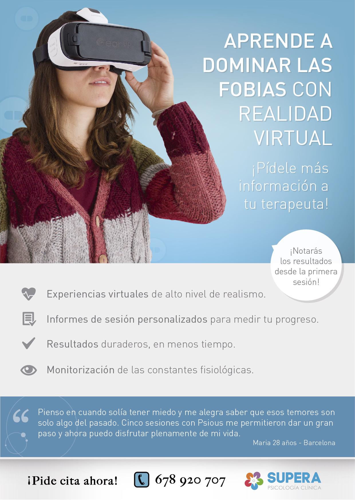 supera psicologia realidad virtual
